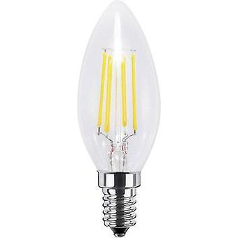 LED E14 Candle 4 W = 33 W Warm white (Ø x L) 35 mm x 97 mm EEC: A+ Segula Filament, dimmable 1 pc(s)