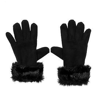 Peter Storm donne allineato i guanti di pelliccia
