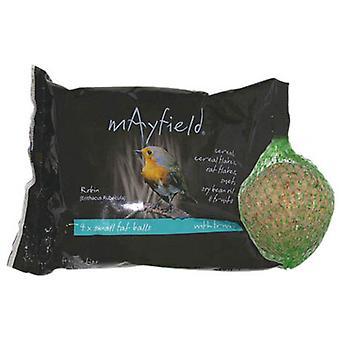 Mayfield fedt bolde med frugt 4pk Poly 88g (pakke med 6)