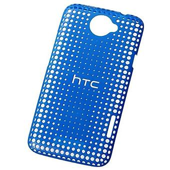 HTC HC C704 Hard Cover for HTC one X - blue