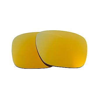 New SEEK Polarized Replacement Lenses for Oakley HOLBROOK LX 24K Gold Mirror