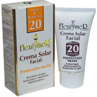 Fleurymer Facial solar cream SPF 20 tube 80 ml (Beauty , Sun creams , Sunscreens)