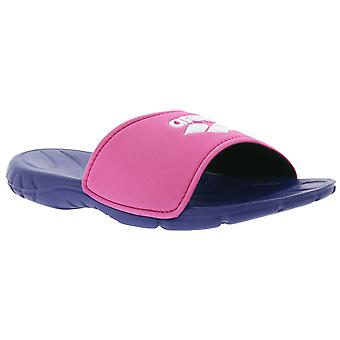 arena spice junior hook kids slippers pink slippers