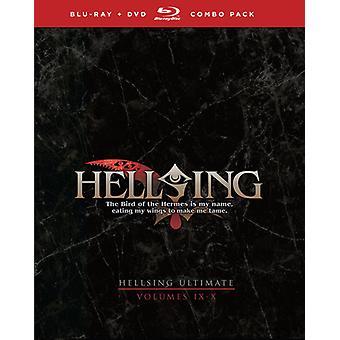 Hellsing Ultimate: Vol 9 & 10 [BLU-RAY] USA importare