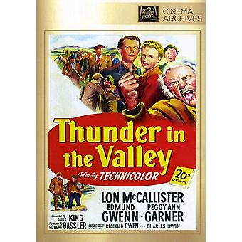 Thunder in the Valley [DVD] USA import