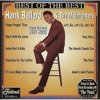 Hank Ballard & Midnighters - bedste af det bedste [CD] USA importerer