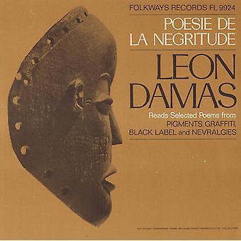 Leon-Gontran Damas - Poesie De La Negritude: Leon Damas Reads Selected [CD] USA import