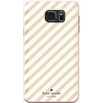 Kate Spade New York Flexible Hardshell Case for Samsung Galaxy Note 5 (Gold Diag