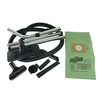 Numatic Vacuum Cleaner 1.8m Hose and Tool Kit with 10 x Paper Dust Bags
