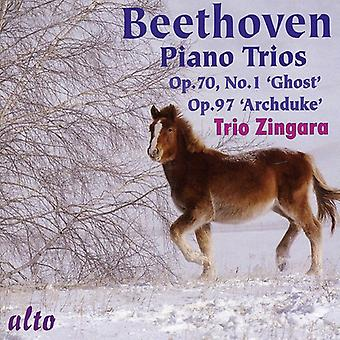 L.V. Beethoven - Beethoven: Piano Trios Opp. 70/1 & 97 [CD] USA import