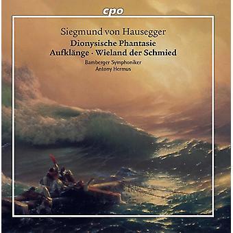 Hausegger / Bamberger Symphoniker / Hermus - Dionysische Phantasie Aufklange Wieland Der Schmid [CD] USA import