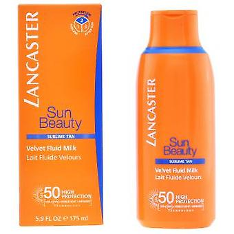 Lancaster Sun Beauty Velvet Fluid Milk SPF 50 175 ml (Cosmetics , Body  , Sun protection)