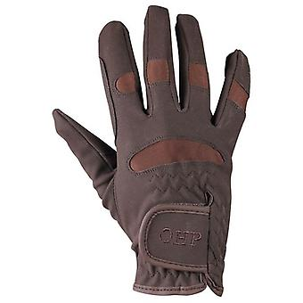 QHP Multi glove Brown (Horses , Rider equipment , Accessories , Glothes)