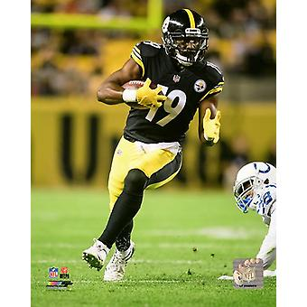 JuJu Smith-Schuster 2017 Action Photo Print