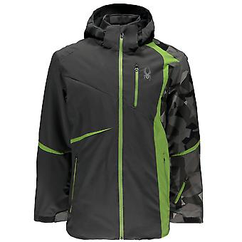 Spyder QUEST men's Gstaad ski jacket anthracite grey