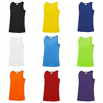 AWDis Childrens/Kids Just Cool Sleeveless Vest Top