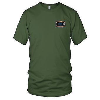 US Navy CM Bau Mechaniker Rating gestickt Patch - Seabee Damen T Shirt