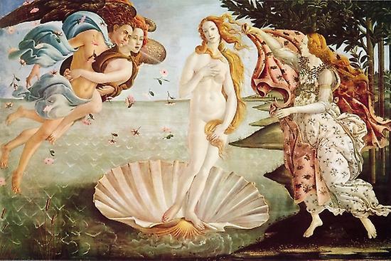 Botticelli Venus Birth Of Venus Poster Poster Print