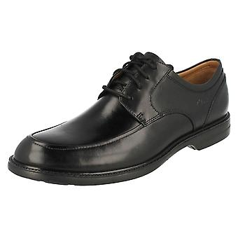 Mens Clarks formelle lisse opp sko Bilton spasertur