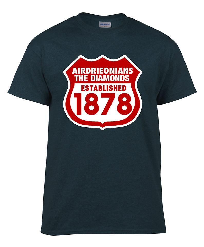 Airdrieonians Established 1878 T-Shirt (Black)