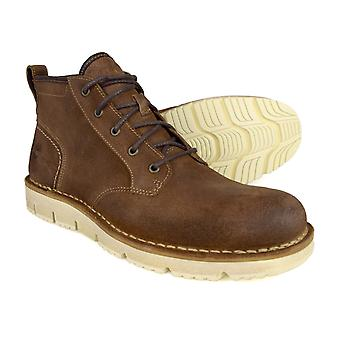 Timberland Westmore Brown Leather Chukka Boots A19H3