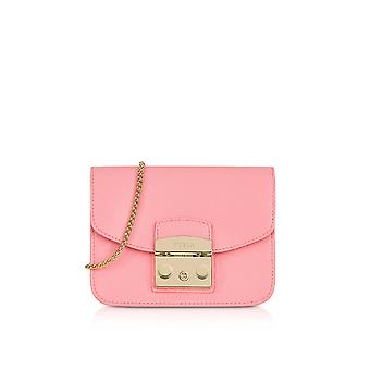 FURLA ladies 914337 pink LEDER shoulder bag
