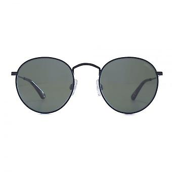 Levis Metal Round Sunglasses In Matte Black
