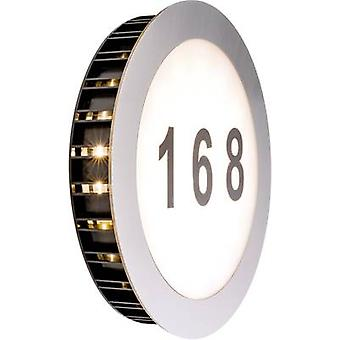 LED illuminated house number 5.6 W Warm white Paulmann Sun