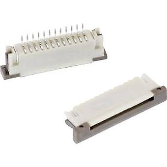 Receptacles (standard) ZIF FPC Total number of pins 22 Würth Elektronik 68612214122 Contact spacing: 1 mm 1 pc(s)