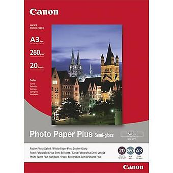 Photo paper Canon Photo Paper Plus Semi-gloss SG-201 1686B026 A3