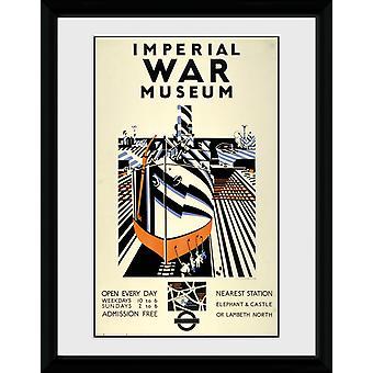 Transport For London Imperial War Museum innrammet samler trykk
