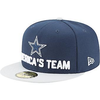 New Era 59Fifty Cap - NFL 2018 DRAFT Dallas Cowboys