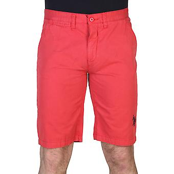 U.S. Polo Men Short Red