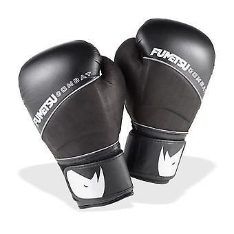 Fumetsu Pro Combat Deluxe Boxing Gloves - Black