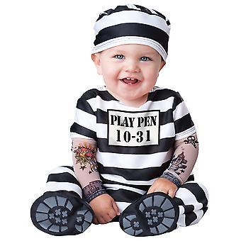 Time Out fange fængslet beboer Baby Bunting drenge spædbarn kostume