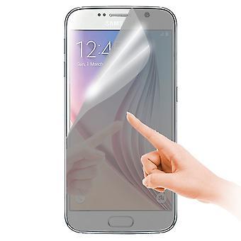 Spiegel Displayschutzfolie für Samsung Galaxy S6 G920 G920F + Poliertuch