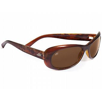 Serengeti Bella Sunglasses (Polarized Driver Lens Bubble Tortoiseshell Frame)