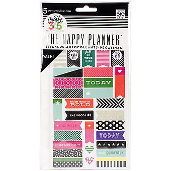 Create 365 Happy Planner Stickers 5/Sheets -Bold - Washi
