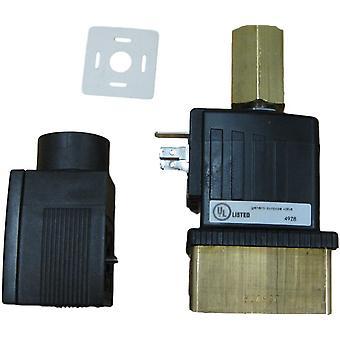 Burkert 6014 7/64 FKM BR Solenoid Ventile komplett mit Stecker & Spule 12VDC 98104883
