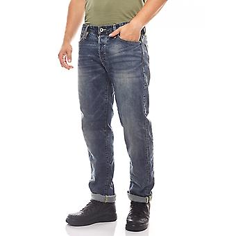 JACK & JONES jeans regular rise men's Mike Blau