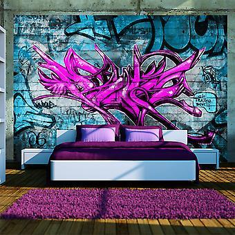 Tapet - anonym graffiti