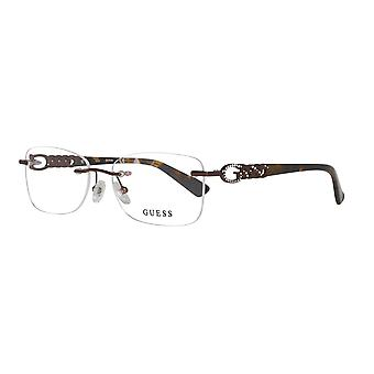 Guess glasses ladies Brown