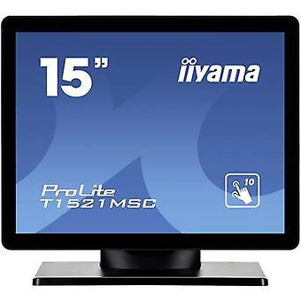 Iiyama T1521MSC-B1 Touchscreen 38.1 cm (15 ) 1024 x 768 pix 4:3 8 ms VGA, USB TN LED
