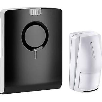 Grothe 43515 Wireless door chime Complete set recordable, with motion detector