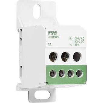 Distribution block Green 1-pin 80 A FTG Friedrich Göhringer 38049PE