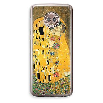 Motorola Moto G6 Transparent Case (Soft) - Der Kuss