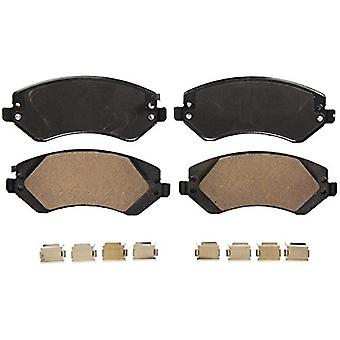 Wagner QuickStop ZD856B Ceramic Disc Pad Set Includes Pad Installation Hardware, Front