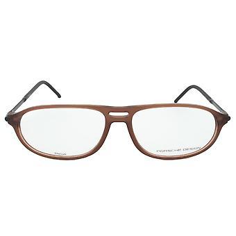 Porsche Design P8138 B Oval | Caramel Brown| Eyeglass Frames