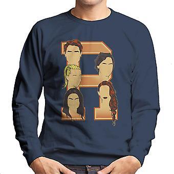 Archie Jughead Betty Veronica Cheryl Riverdale Men's Sweatshirt