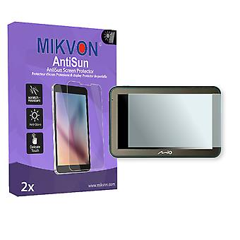 Mio Spirit 7100 LM Screen Protector - Mikvon AntiSun (Retail Package with accessories)
